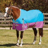 WeatherBeeta ComFiTec Classic 0g Lightweight Standard Neck Turnout Rug Blue/Purple/Silver
