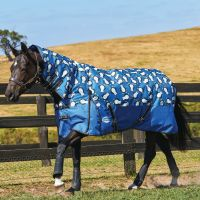 WeatherBeeta ComFiTec Essential 220g Medium Weight Combo Turnout Rug Penguin