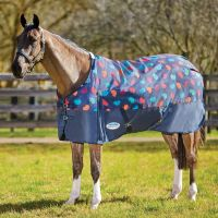 WeatherBeeta ComFiTech Essential 220g Medium Weight Standard Neck Turnout Rug Hedgehog Print