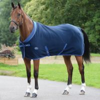 WeatherBeeta Double Bonded Fleece Standard Neck Rug Navy/Royal Blue