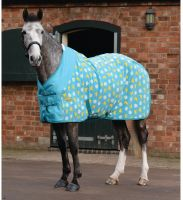 WeatherBeeta Fleece Cooler Standard Neck Rug Duck/Daisy Print