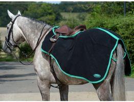 WeatherBeeta Fleece Exercise Sheet Black/Green