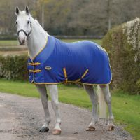 WeatherBeeta Polar Fleece Cooler Blue/Lemon