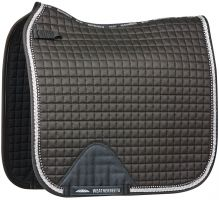 Weatherbeeta Prime Bling Dressage Saddle Pad Black