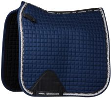Weatherbeeta Prime Bling Dressage Saddle Pad Navy