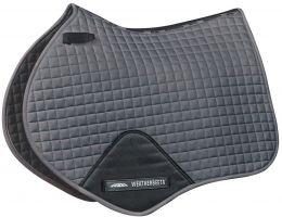 WeatherBeeta Prime Jump Saddle Pad Grey