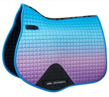 WeatherBeeta Prime Ombre All Purpose Saddle Pad Lagoon Mist