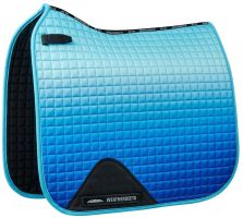 WeatherBeeta Prime Ombre Dressage Saddle Pad Ocean Breeze