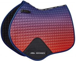 WeatherBeeta Prime Ombre Jump Saddle Pad Stormy Sky
