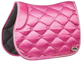 WeatherBeeta Regal Luxe All Purpose Saddle Pad Rose Queen