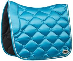 WeatherBeeta Regal Luxe Dressage Saddle Pad Turquoise Duke