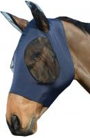 WeatherBeeta Stretch Bug Eye Saver with Ears Fly Mask Navy/Black
