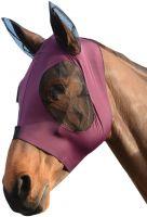 WeatherBeeta Stretch Bug Eye Saver with Ears Fly Mask Purple/Black
