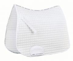 WeatherBeeta Supreme Dressage Saddle Pad White