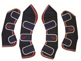 WeatherBeeta Travel Boots Navy/Red/White