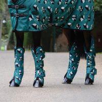 WeatherBeeta Wide Tab Long Travel Boots Panda Print