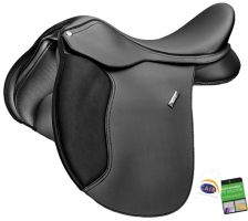 Wintec 500 Wide All Purpose Saddle Black