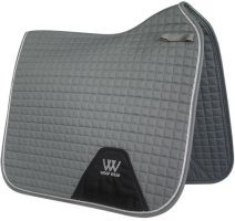 Woof Wear Contour Dressage Saddle Pad Brushed Steel