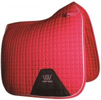 Woof Wear Contour Dressage Saddle Pad Royal Red