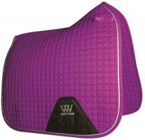 Woof Wear Contour Dressage Saddle Pad Ultra Violet