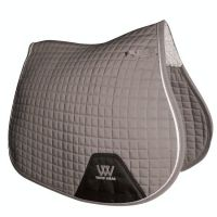 Woof Wear Contour GP Saddle Pad Brushed Steel