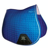 Woof Wear Contour GP Saddle Pad Electric Blue