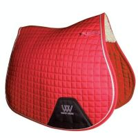 Woof Wear Contour GP Saddle Pad Royal Red
